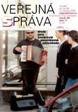 Titulní strana časopisu Veřejná správa 11/01